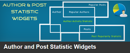 Author-and-Post-Statistic-Widget