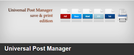 Universal-Post-Manager