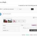 wpDiscuz-Media-Uploader multiple image attachment