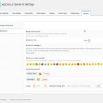 wpDiscuz Emoticons Settings - Custom smiles package switcher