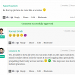 wpDiscuz Front-end Moderation Approving