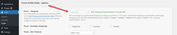 wpForo user profile edit screen forum usergroup
