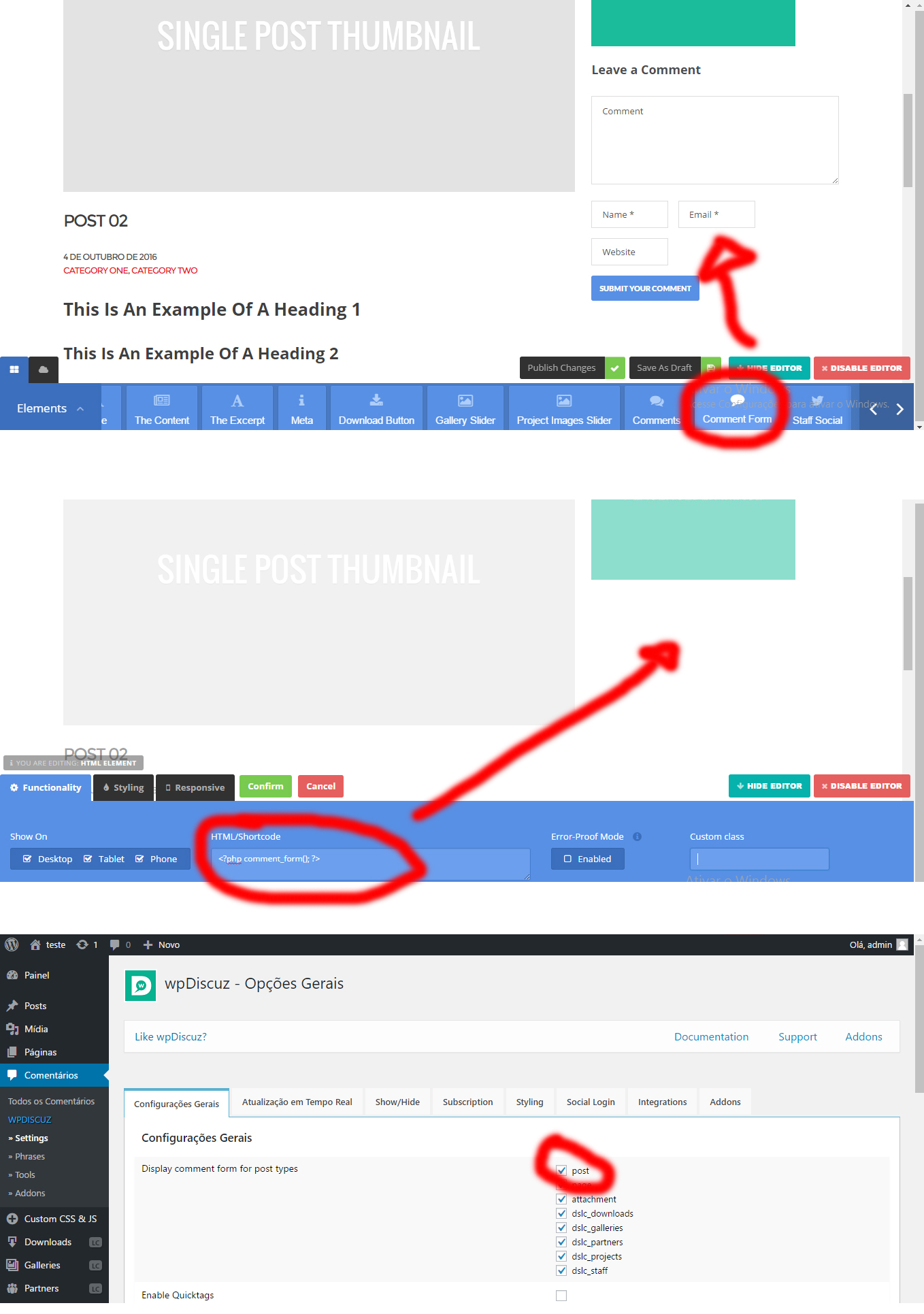 Not show in template Live Composer – How-To and Troubleshooting ...