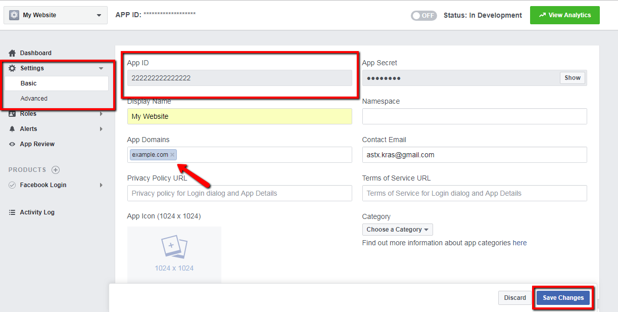 How to get Facebook App ID – Important Information and Announcements