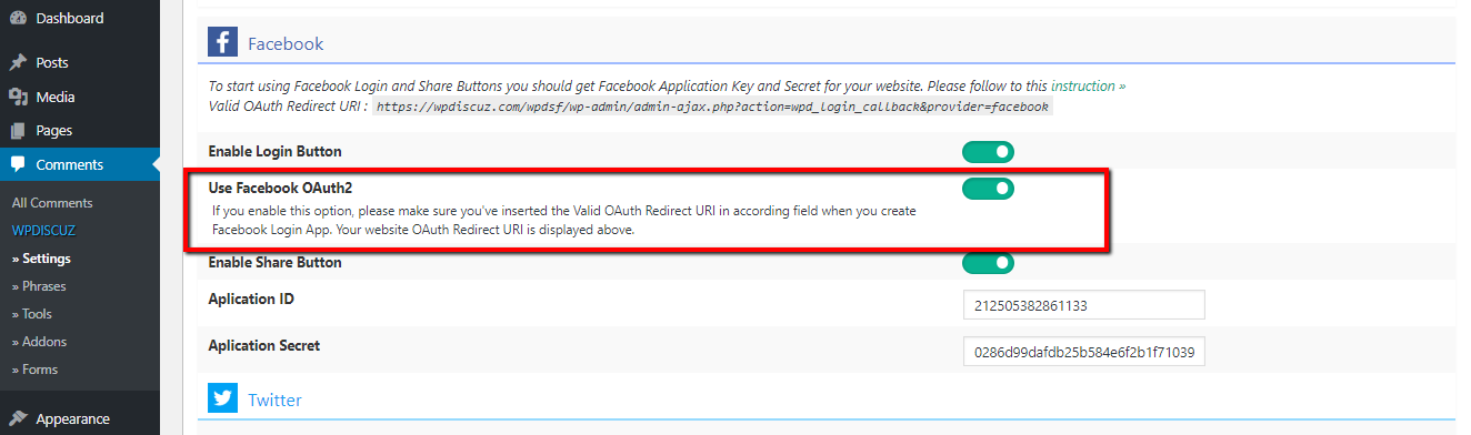 Can't connect with Facebook – How-To and Troubleshooting – gVectors